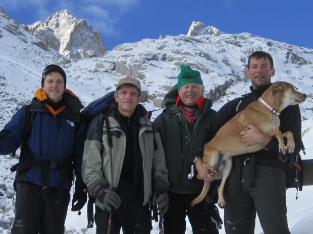 Climbing Mount Whitney in winter