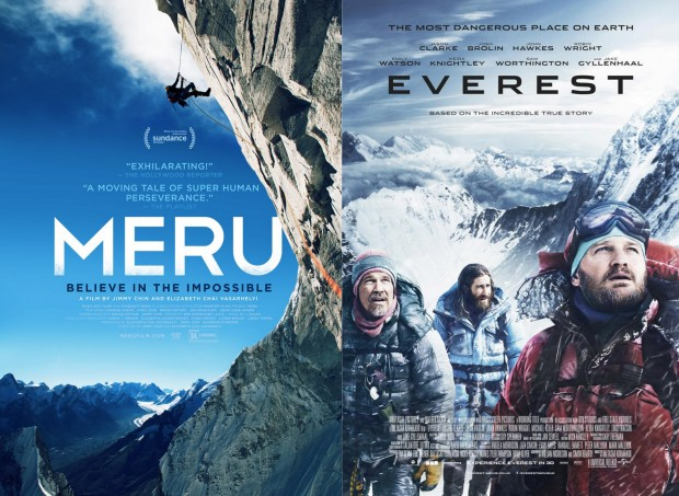 This mountaineers review of the two 2015 mountaineering movies