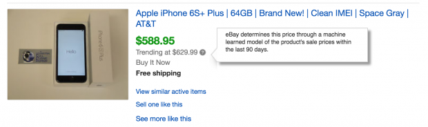 eBay Adds to Machine Learning Hype